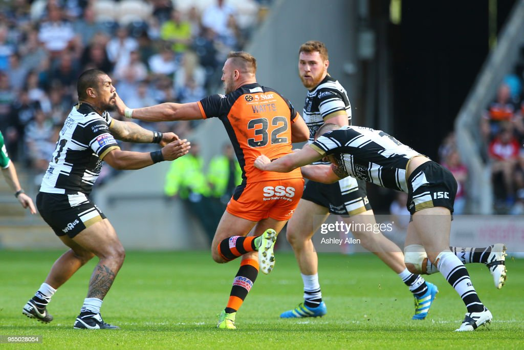 Hull FC v Castleford Tigers - BetFred Super League : News Photo