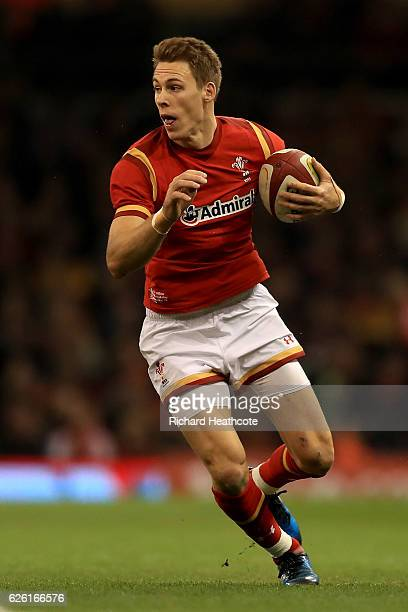 Liam Williams of Wales during the International Match between Wales and South Africa at the Principality Stadium on November 26 2016 in Cardiff Wales