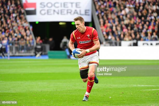 Liam Williams of Wales during the RBS Six Nations match between France and Wales at Stade de France on March 18 2017 in Paris France