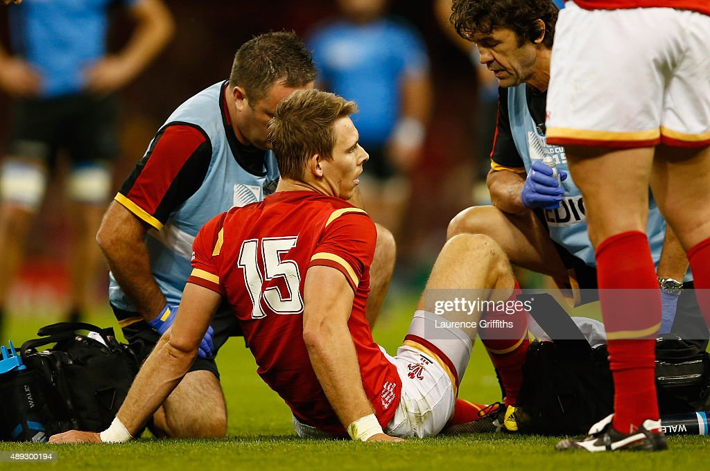 Wales v Uruguay - Group A: Rugby World Cup 2015 : News Photo