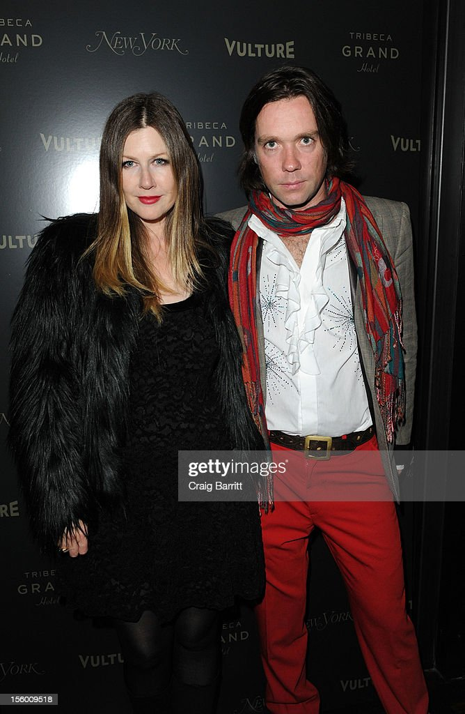Lian Lunson and Rufus Wainwright attend 'Sing Me The Songs That Say I Love You: A Concert For Kate McGarrigle' premiere after party at Tribeca Grand Hotel on November 10, 2012 in New York City.