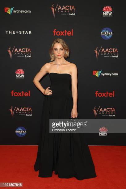Liana Cornell attends the 2019 AACTA Awards Presented by Foxtel at The Star on December 04 2019 in Sydney Australia