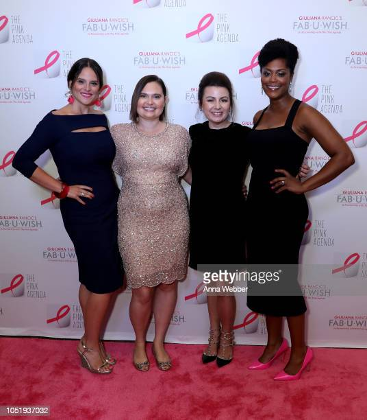Liana M Douillet Guzman Rebecca Hall Jaquelyn M Scharnick Marisa Renee Lee attend The Pink Agenda's Annual Gala at Tribeca Rooftop on October 11 2018...
