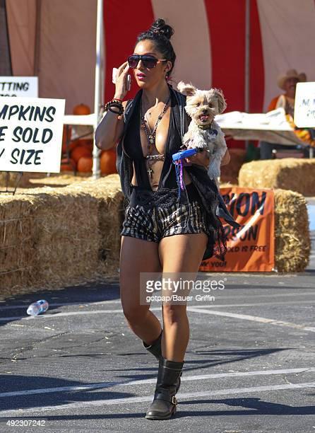 Liana Mendoza is seen on October 11 2015 in Los Angeles California