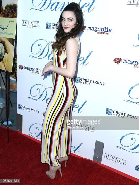 Liana Ramirez arrives at the Magnolia Pictures' 'Damsel' Premiere at ArcLight Hollywood on June 13 2018 in Hollywood California