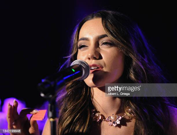 Liana Ramirez attends the EP Release Party for Jade Patteri held at The Federal NoHo on September 21, 2021 in North Hollywood, California.