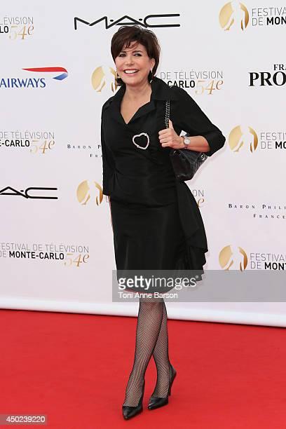 Liane Foly attends the opening ceremony of the 54th Monte Carlo TV Festival at the Grimaldi Forum on June 7 2014 in MonteCarlo Monaco