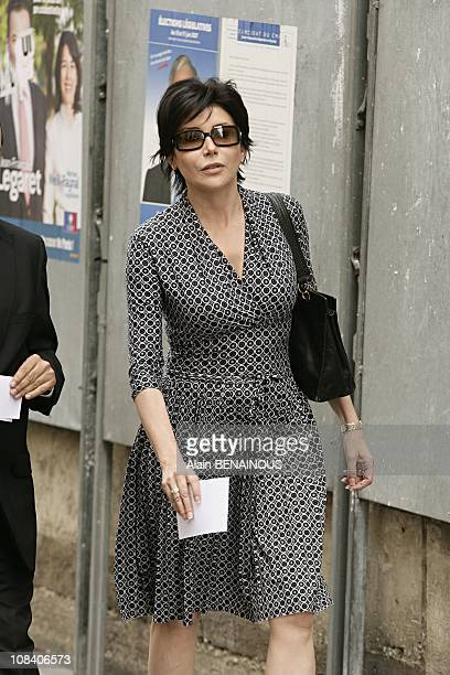 Liane Foly in Paris France on June 04 2007
