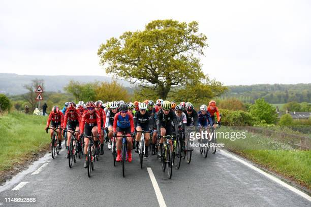 Liane Lippert of Germany and Team Sunweb / Lizzie Elisabeth Deignan-Armitstead of United Kingdom and Team Trek- Segafredo / Ruth Winder of The United...