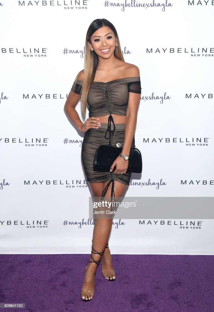Liane V. attends Maybelline's Los Angeles Influencer Launch Event at 1OAK on August 10, 2017 in West Hollywood, California.