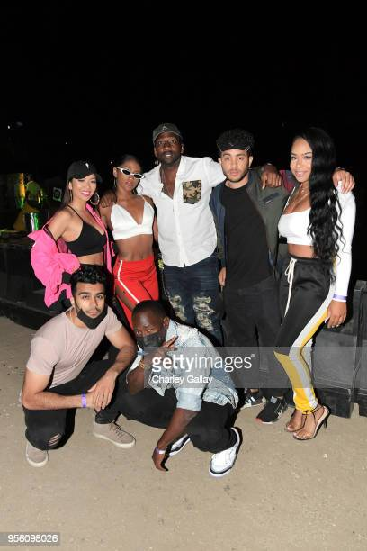 Liane V JaNina DeStorm Power and guests Adam Waheed and Wes 'Wuz Good' Armstrong attend Spotify Hosts Sr3mmPocalypse Party with Performances by Rae...