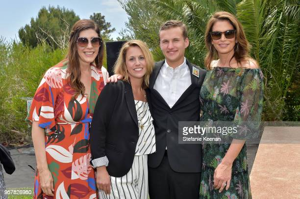 Liane Weintraub Diane Mayor Jack Mayor and Cindy Crawford attend 2018 Best Buddies Mother's Day Brunch Hosted by Vanessa Gina Hudgens on May 12 2018...