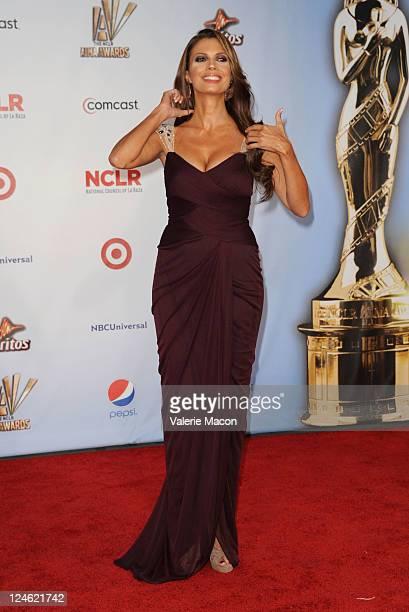 Lianna Grethel arrives at the 2011 NCLR ALMA Awards held at Santa Monica Civic Auditorium on September 10, 2011 in Santa Monica, California.