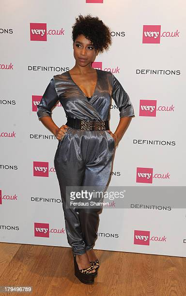 Lianne La Havas attends the launch party of verycouk's Definitions range at Somerset House on September 4 2013 in London England