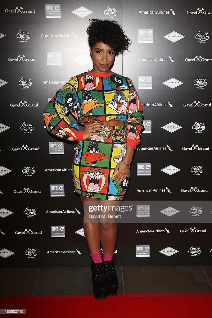 Lianne La Havas attends the MTV Staying Alive 15th Anniversary Gala at St Pancras Renaissance Hotel on November 2, 2013 in London, England.