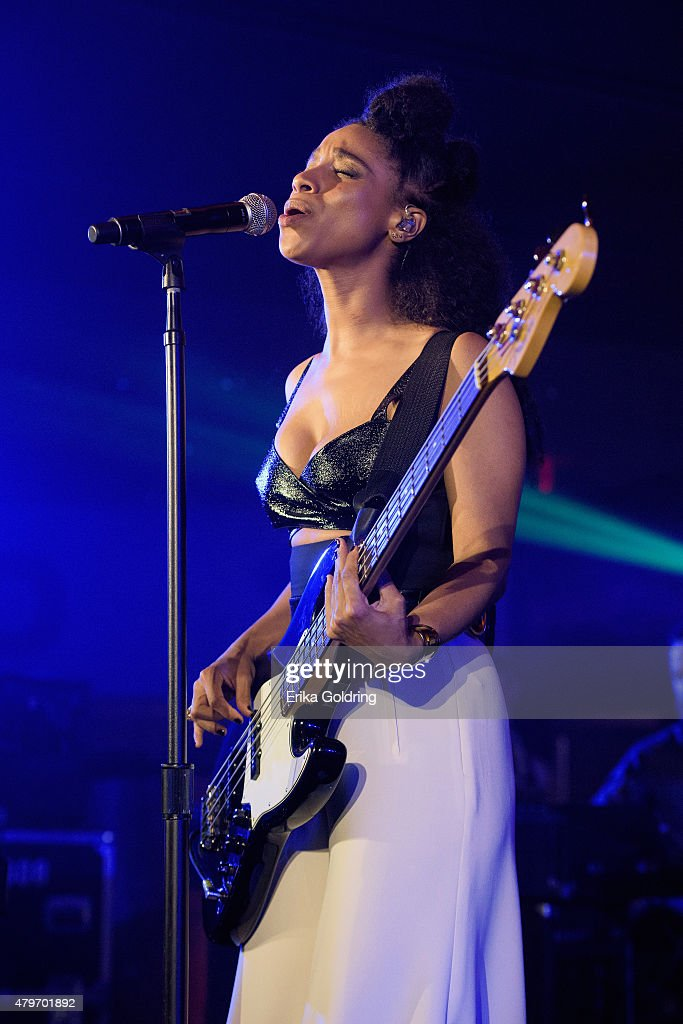 Lianne La Havas performs at the 2015 Essence Music Festival on July 5, 2015 in New Orleans, Louisiana.