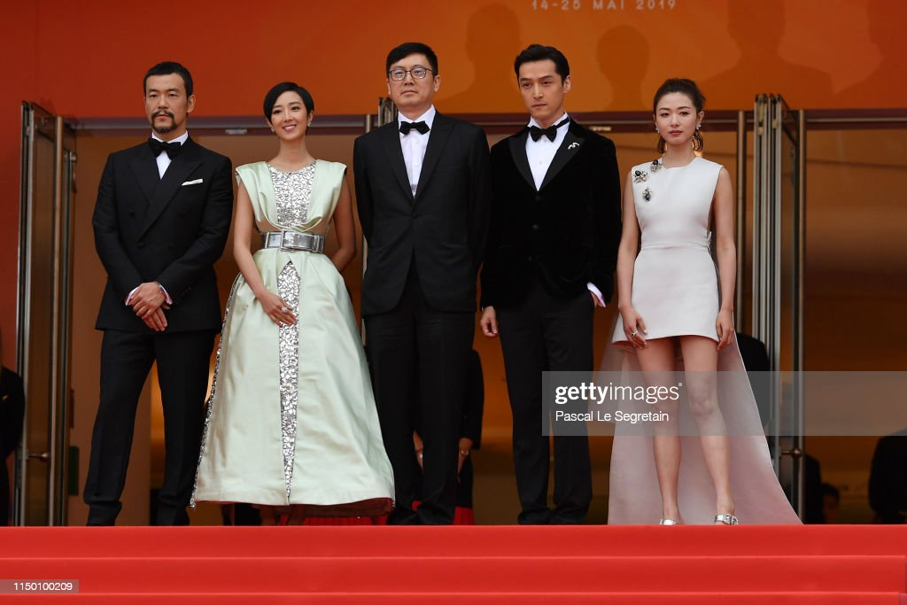 "FRA: ""The Wild Goose Lake (Nan Fang Che Zhan De Ju Hui/ Le Lac Aux Oies Sauvages)"" Red Carpet - The 72nd Annual Cannes Film Festival"