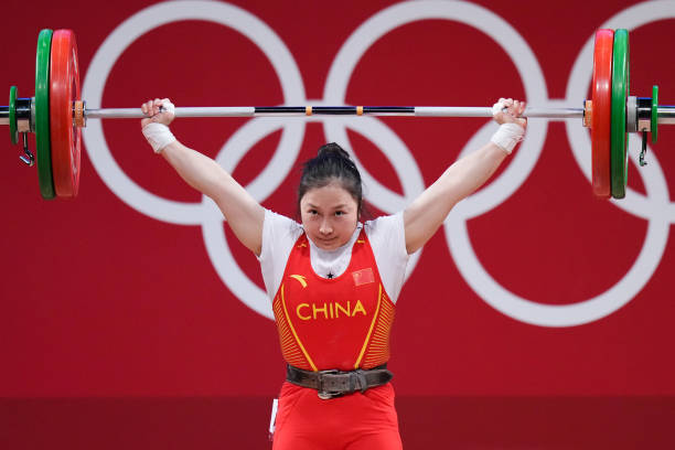 JPN: Weightlifting - Tokyo 2020 Olympics - Day 3