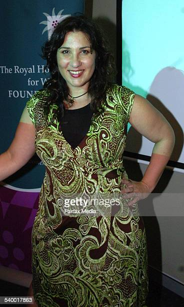Libbi Gorr at the Royal Hospital for Women Mother's Day appeal launch at the Sydney Swans Club Lounge, SCG, 29 March 2006. SHD Picture by JANIE...