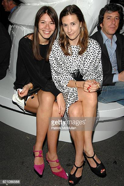 Libbie Mugrabi and Alexandra Fritz attend TOM SACHS Bronze Collection Party for LEVER HOUSE at Lever House on May 8 2008 in New York City