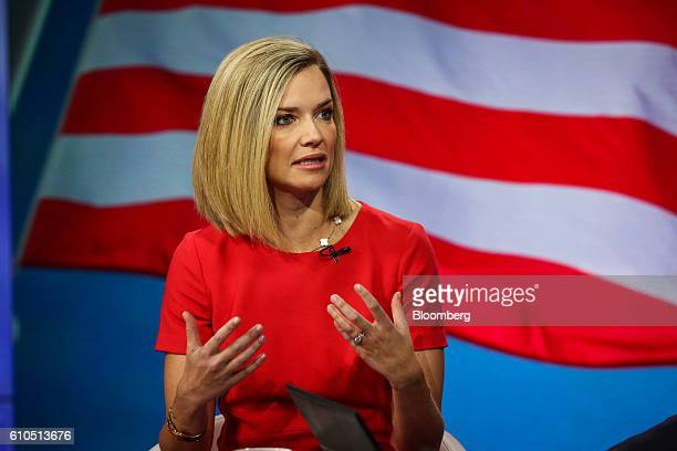 Libby Cantrill executive vice president of Pacific Investment Management Co speaks during a Bloomberg Television interview in New York US on Monday...