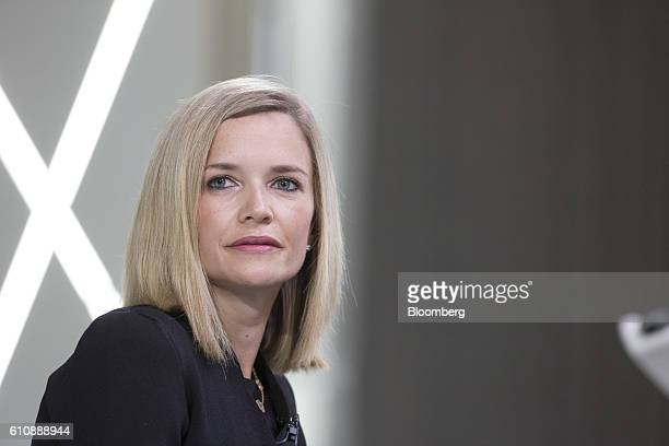 Libby Cantrill executive vice president of Pacific Investment Management Co pauses at the Bloomberg Markets Most Influential Summit in London UK on...