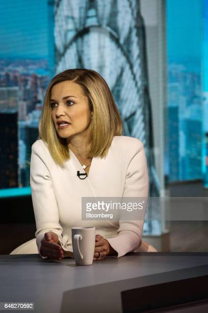 Libby Cantrill executive vice president of Pacific Investment Management Co LLC speaks during a Bloomberg Television interview in New York US on...