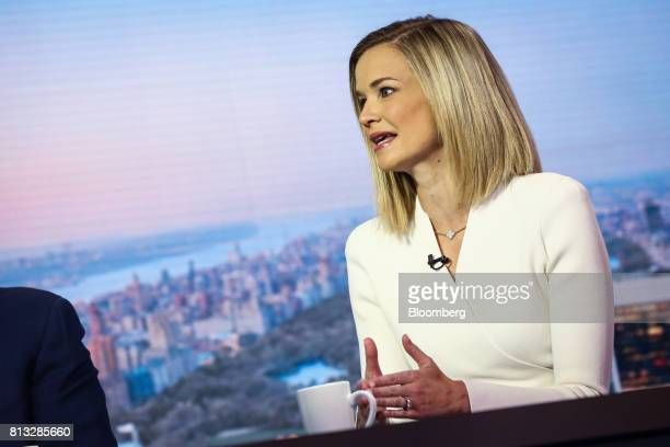 Libby Cantrill executive vice president of Pacific Investment Management Co speaks during a Bloomberg Television interview in New York US on...