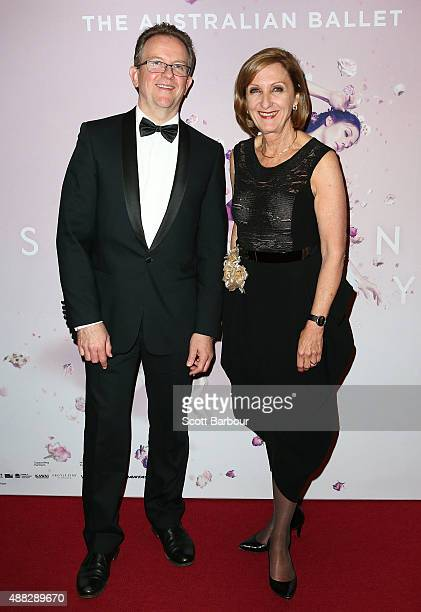 Libby Christie Executive Director of The Australian Ballet attends the Australian Ballet's 'The Sleeping Beauty' opening night at Arts Centre...