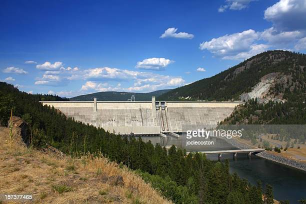 Libby Dam on Koocanusa Reservoir