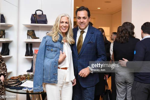 3610db5cde075c Libby Edelman and Sam Edelman attend Sam Edelman NYFW Fashion Philanthropy  on February 8 2018 in