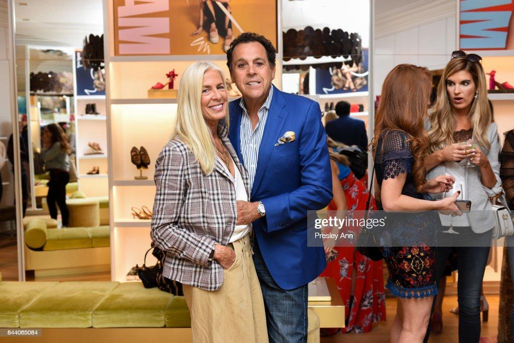 ad29ae12e Libby Edelman and Sam Edelman attend Sam Edelman NYFW Fashion ...