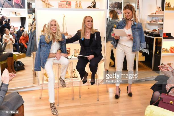 083aa8e69704ce Libby Edelman Barbara Winston and Lizzi Bickford attend Sam Edelman NYFW  Fashion Philanthropy on February 8