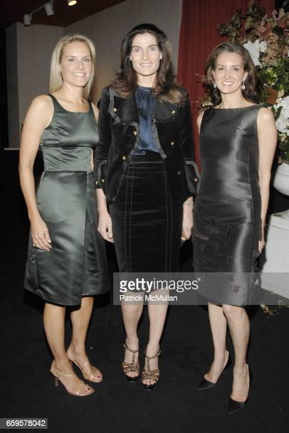 Libby Fitzgerald Jennifer Creel and Lisa McCarthy attend THE SOCIETY of MEMORIAL SLOANKETTERING CANCER CENTER 21st Annual Preview Party for The...