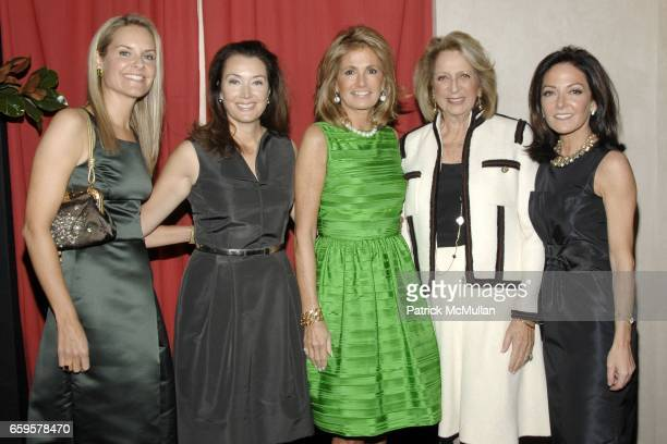 Libby Fitzgerald Lisa McCarthy Grace Meigher Daisy Soros and Margaret Russell attend THE SOCIETY of MEMORIAL SLOANKETTERING CANCER CENTER 21st Annual...