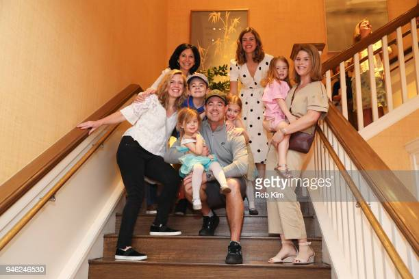 Libby Leist Deborah Kosofsky Carson Daly Siri Daly and Jenna Bush Hager attend 'Siriously Delicious' by Siri Daly book launch event at Williams...