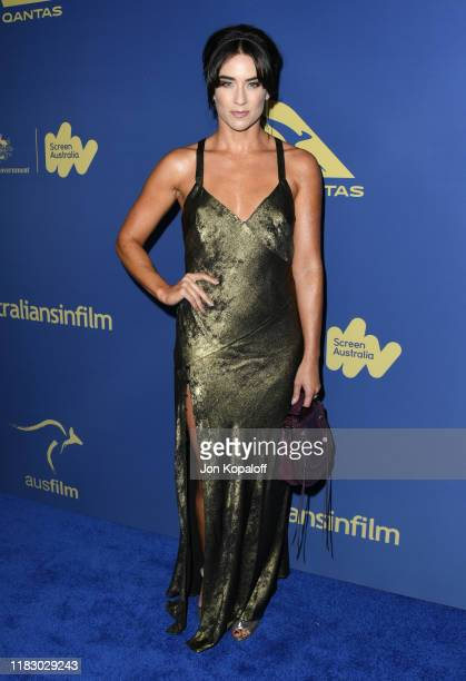 Libby Munro attends the 2019 Australians In Film Awards at InterContinental Los Angeles Century City on October 23, 2019 in Los Angeles, California.