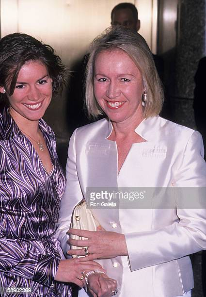 Libby Pataki and daugther Emily Pataki attend 55th Annual Tony Awards on June 3 2001 at the Radio City Music Hall in New York City