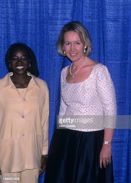 Libby Pataki and guest attend A Gala Evening of Reading on May 14 2001 at the Vivian Beaumont Theater in New York City