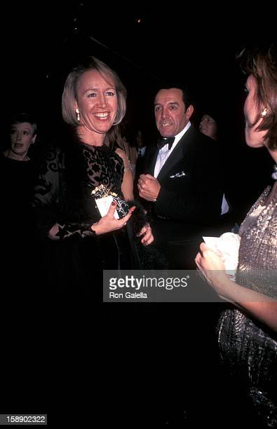 Libby Pataki attends 17th Annual Council of Fashion Designer of America Awards on February 8 1998 at JP Morgan Atrium in New York City