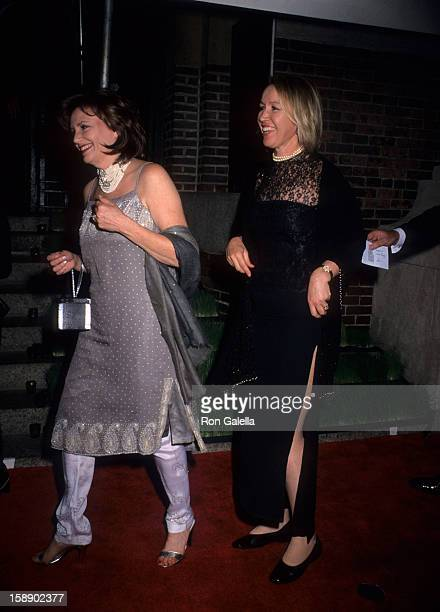 Libby Pataki attends 18th Annual Council of Fashion Desigers of America Awards on June 2 1999 at 69th Regiment Armory in New York City