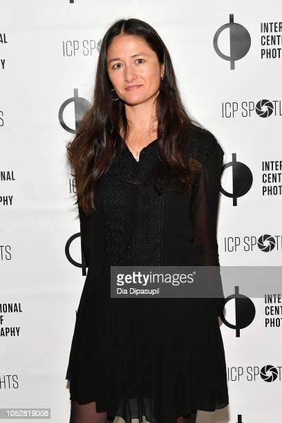Libby Pratt attends the ICP Spotlights Luncheon Honoring Mickalene Thomas on October 23 2018 in New York City