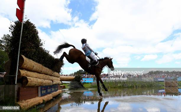Libby Seed of Great Britain rides What a Catch II during the CIC 4 star cross country at the Messmer Trophy on June 17 2017 in Luhmuhlen Germany