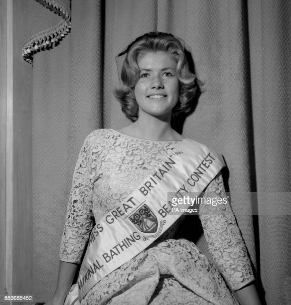 Libby Walker a student at Nottingham University who last week won the Miss Great Britain title pictured when a special Press reception was held for...