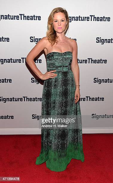 Libby Winters attends the 2015 Signature Theatre Gala at The Signature Center on April 27 2015 in New York City