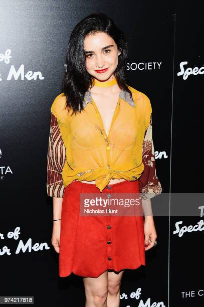 Libe Barer attends 'The Year Of Spectacular Men' New York Premiere at The Landmark at 57 West on June 13 2018 in New York City