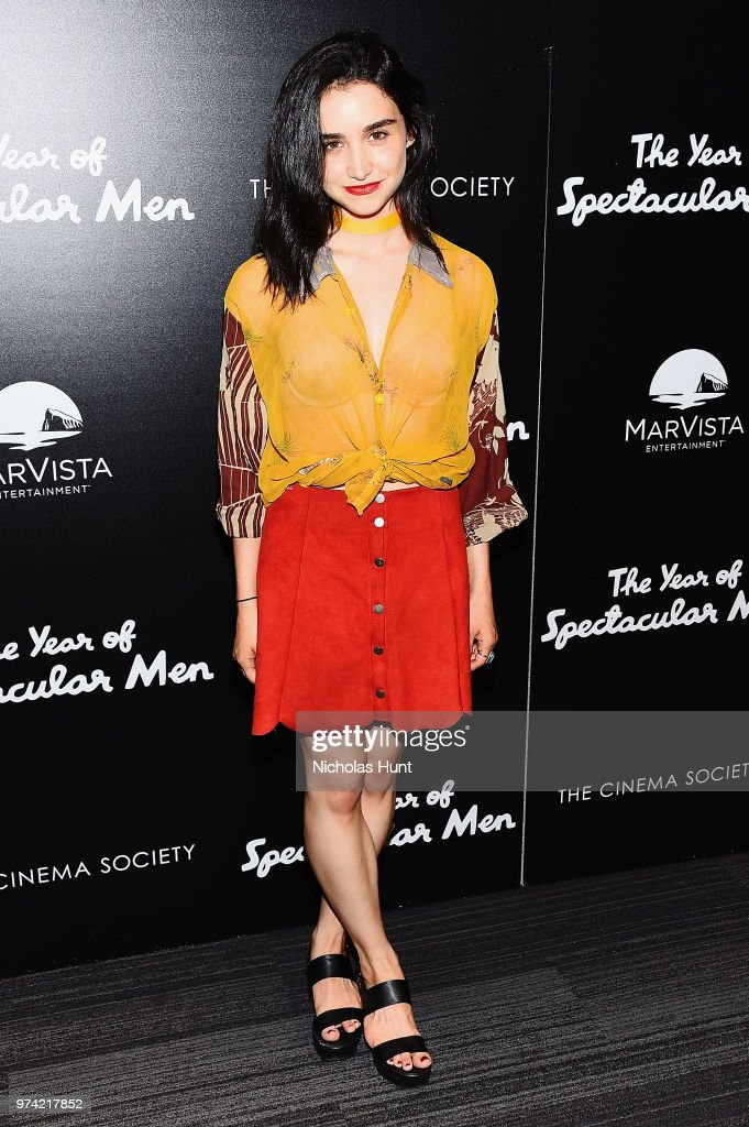 Libe Barer attends 'The Year Of Spectacular Men' New York Premiere at The Landmark at 57 West on June 13, 2018 in New York City.
