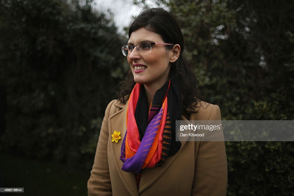 Liberal Democrat candidate for Oxford West and Abingdon Layla Moran listens as Nick Clegg speaks to the media after launching the party's General Election 2015 campaign on March 29, 2015 in Abingdon, England. The Liberal Democratic party started it's election campaign in the Oxford West and Abingdon consituancy today where Mr Clegg unveiled the Liberal Democrat election battle bus and met with candidate for Oxford West and Abingdon Layla Moran.