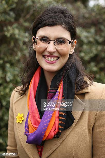 Liberal Democrat candidate for Oxford West and Abingdon Layla Moran poses for a picture as Nick Clegg speaks to the media after launching the party's...