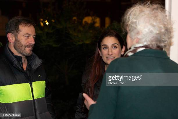 Liberal Democrat candidate Luciana Berger campaigns in her constituency Finchley and Golders Green on December 8, 2019 in London, England. This is...